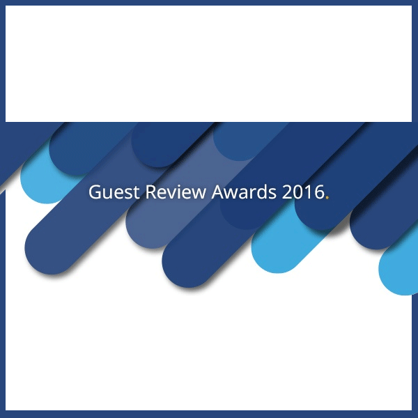 Guest Review Award 2016 (c) Booking.com